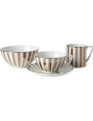JASPER CONRAN @ WEDGWOOD Platinum Striped range