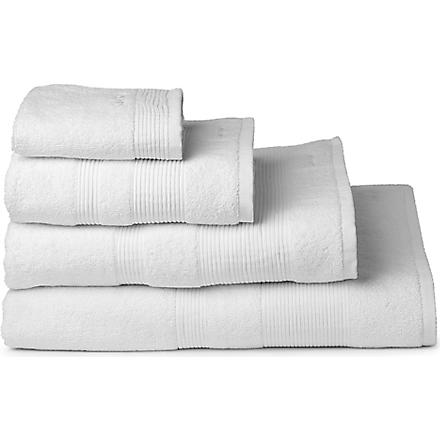 CALVIN KLEIN HOME Core towels white