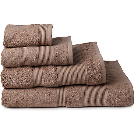CALVIN KLEIN HOME Core towels fawn