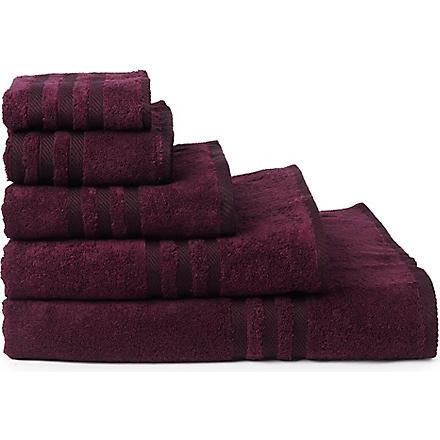 RALPH LAUREN HOME Player towels bordeaux