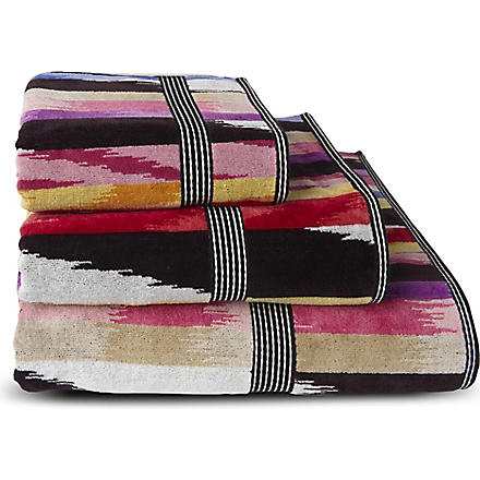 MISSONI HOME Homer towels multi