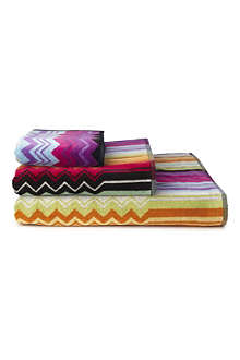 MISSONI HOME Giacomo towels red
