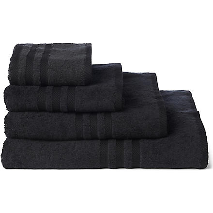 RALPH LAUREN HOME Player towels onyx