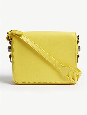 Off-White yellow bag