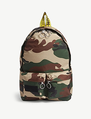 Off-White camouflage bag