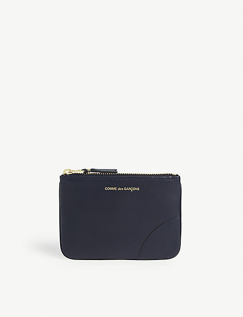 COMME DES GARCONS Logo leather wallet