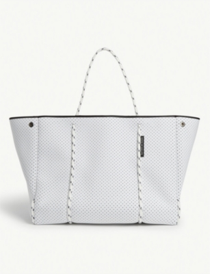 Escape neoprene tote bag