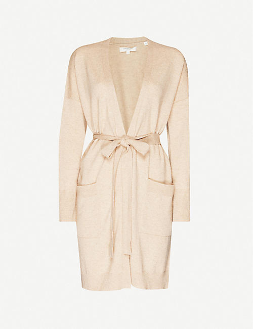 CHINTI AND PARKER The Duster belted cashmere cardigan