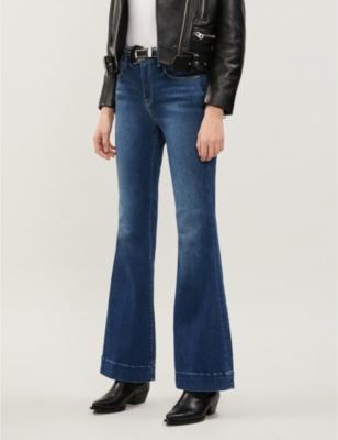 Good Flare stretch-denim jeans