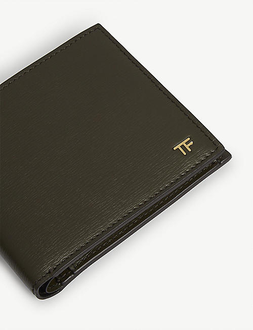 TOM FORD Textured leather billfold wallet