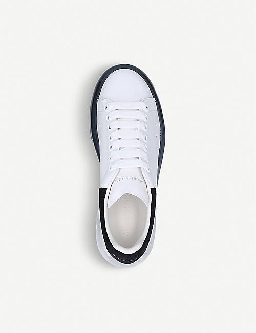 ALEXANDER MCQUEEN Runway Bubble dégradé leather trainers