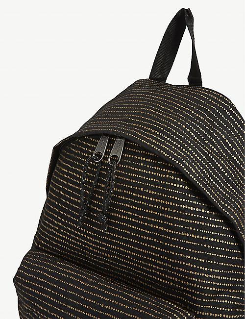 EASTPAK Pak'r twinkle striped backpack