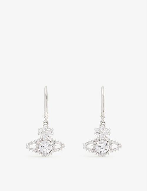 VIVIENNE WESTWOOD JEWELLERY Valentina Orb drop earrings