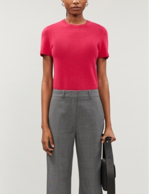 Basic cashmere T-shirt