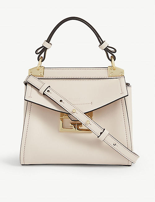 GIVENCHY Mystic mini leather top handle bag