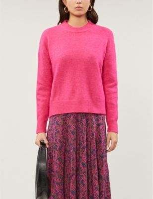 Anour relaxed-fit knitted jumper