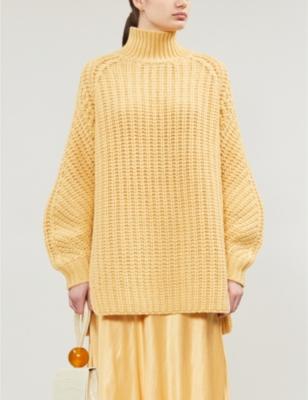 Zelma turtleneck wool-blend jumper