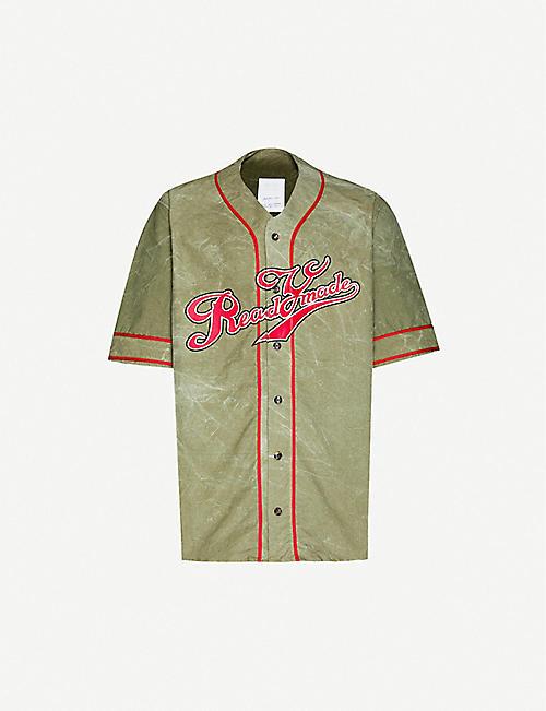 READYMADE Recycled canvas baseball shirt