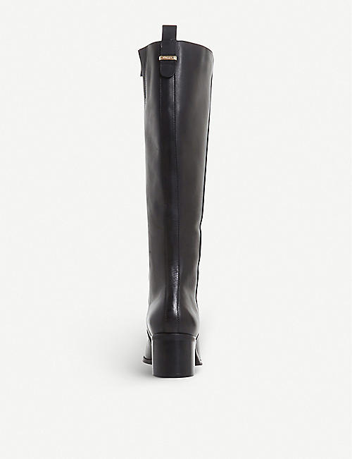 DUNE Trilly knee-high leather boots