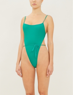 Croft ribbed swimsuit