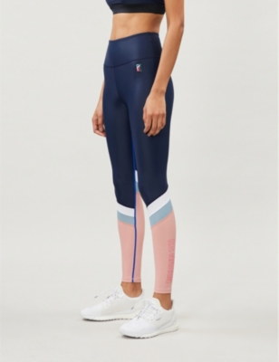Flex It sports-jersey leggings