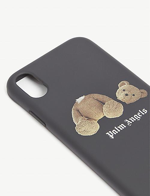 PALM ANGELS 贝尔标志打印硅胶 iPhone XR 外壳