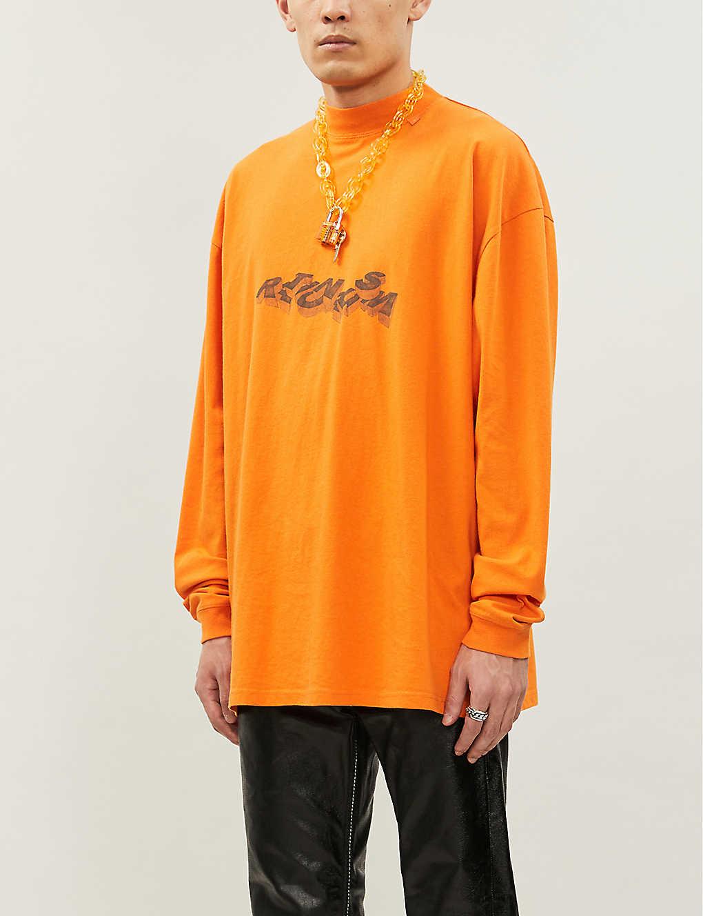 Graphic-print cotton-jersey sweatshirt(8518344)