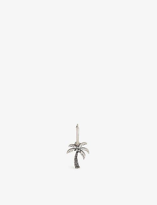 SERGE DENIMES: Sterling silver palm tree earring
