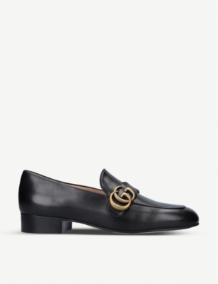 Marmont leather loafers