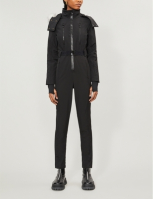 Neptune Aio funnel neck shell jumpsuit