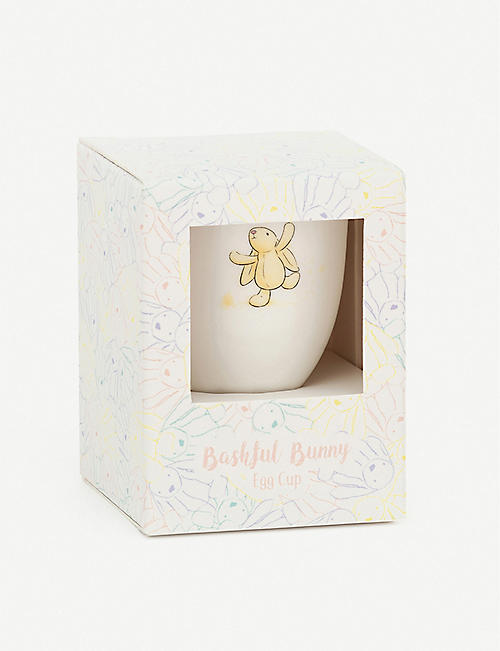 JELLYCAT Bashful Bunny painted bone china eggcup 7cm