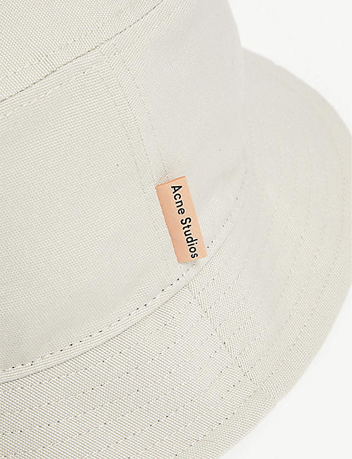 ACNE STUDIOS Cotton bucket hat
