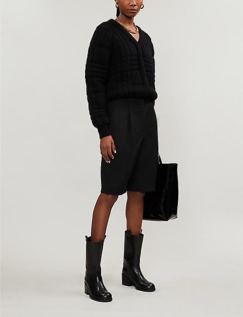 ACNE STUDIOS Ruthie high-rise woven shorts