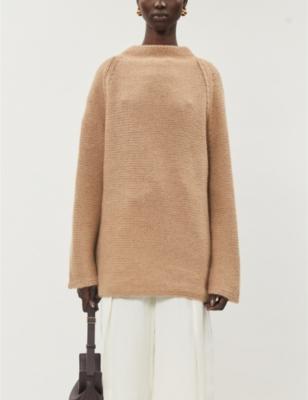 Mayata high-neck cashmere jumper