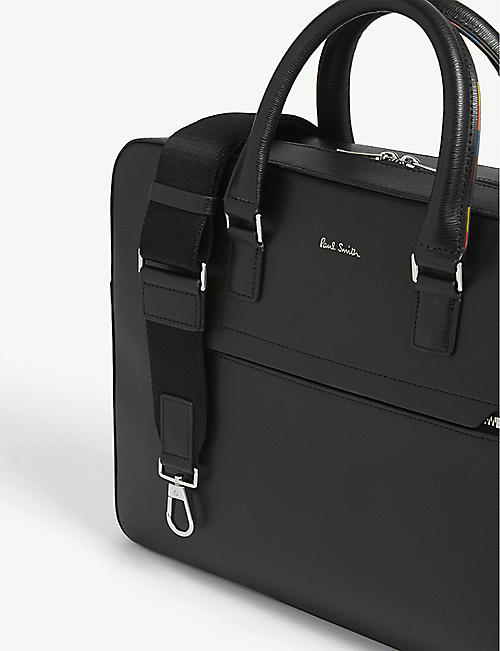 PAUL SMITH ACCESSORIES 真皮公文包