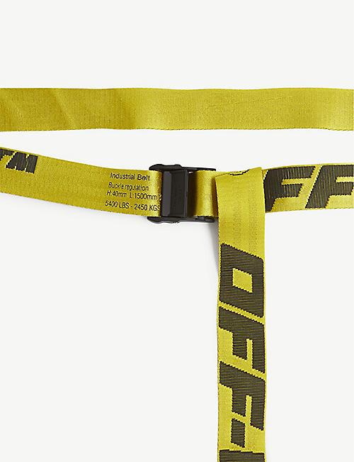 OFF-WHITE C/O VIRGIL ABLOH Industrial tape jacquard belt