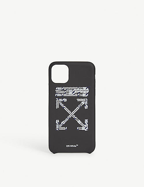 OFF-WHITE C/O VIRGIL ABLOH机场磁带手机盒 iPhone 11最大