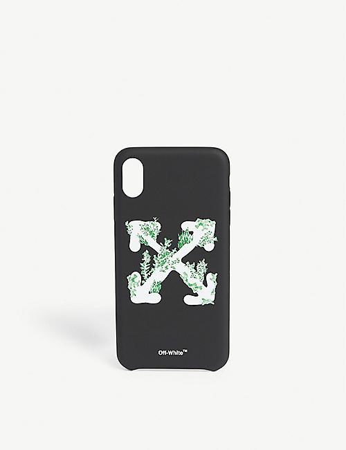 OFF-WHITE C/O VIRGIL ABLOH珊瑚箭头 iPhone XS 最大外壳