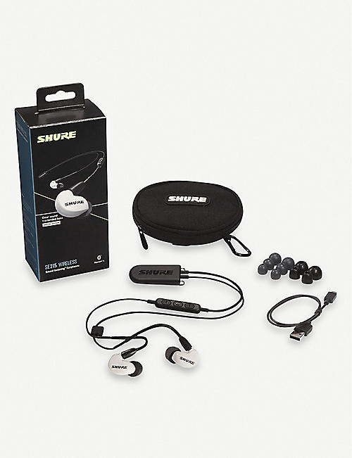 SHURE SE215 Wireless Earphones with BT2 Cable