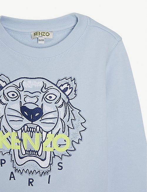 KENZO Tiger cotton sweatshirt 4-14 years