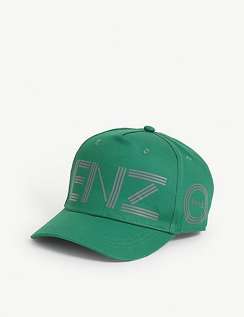 KENZO Kids logo-print baseball cap