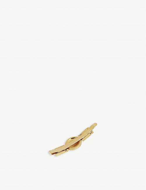 VERSACE V Tribute Medusa emblem hair pin