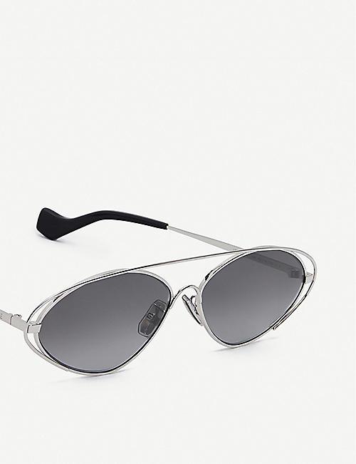 LOEWELW40037U 椭圆形金属太阳镜