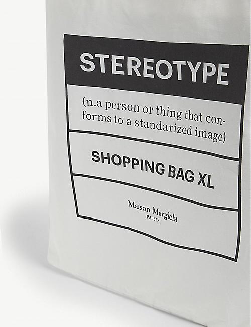 MAISON MARGIELA Stereotype large tote bag