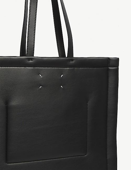 MAISON MARGIELA Four stitch leather tote bag