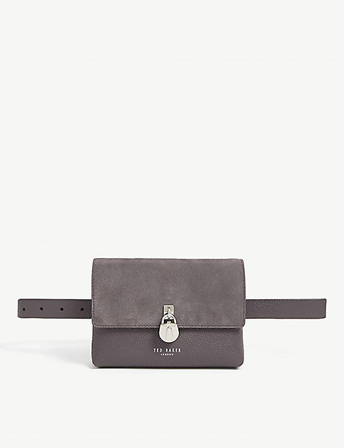 TED BAKER Marleea padlock belt bag