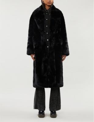 Sasha faux-fur coat