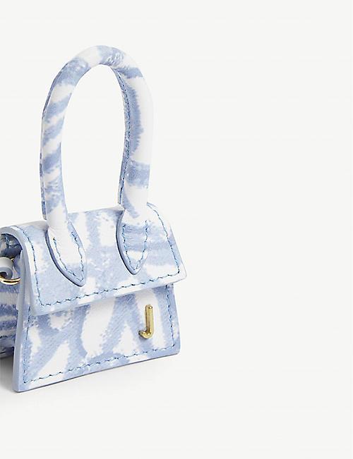 JACQUEMUS Le petit Chiquito mini leather top handle bag