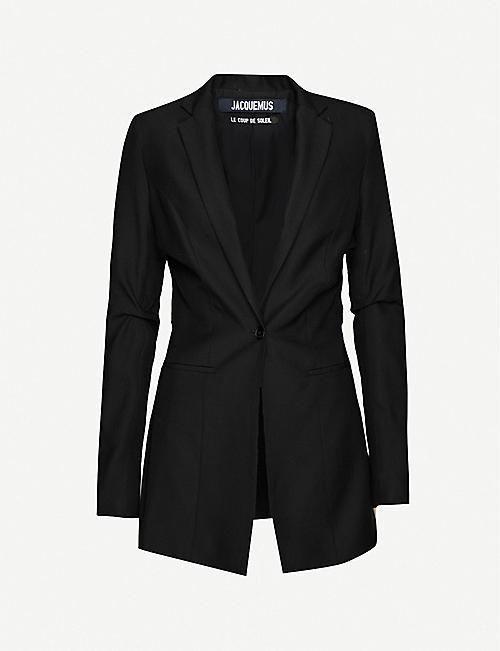JACQUEMUS La Veste Bergamo twill blazer