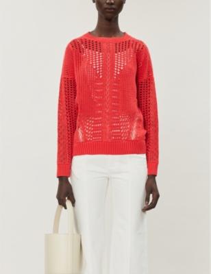 Mazet cotton-knit jumper
